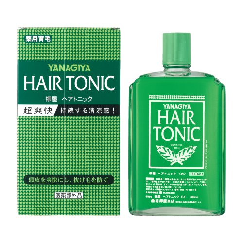 Hair Tonic (YANAGIYA | Scalp Care | Hair Tonic 360ml (Japan Import))