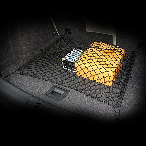 AndyGo Car Trunk Elastic Cargo Net Fit For Audi A3 A4 A5 A6 Q5 Q7 R8 S4 S5 S6 S8 TT