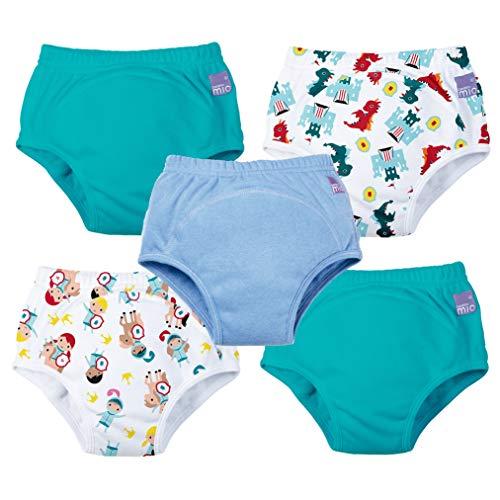 Bambino Mio, Potty Training Pants, Mixed boy Magical Kingdom, 3+ Years, 5 Pack