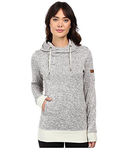 (Roxy Snow Junior's Dipsy Pullover Fleece, Egret, XL)