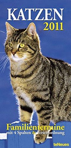 Katzen 2011: Familientermine mit 4 Spalten und Ferienordnung