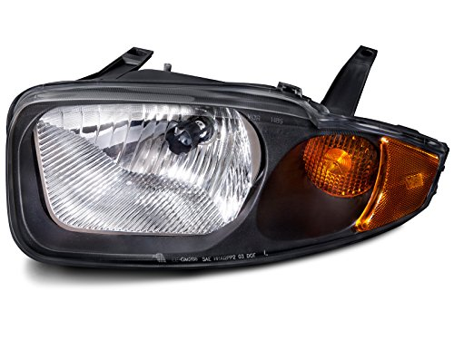 HEADLIGHTSDEPOT Compatible with Chevy Cavalier Headlight OE Style Replacement Headlamp Driver Side New