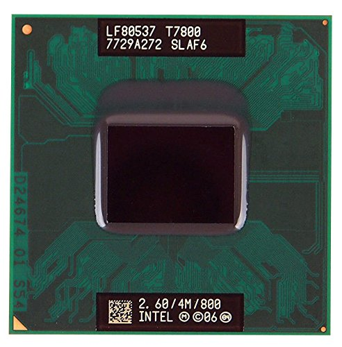 Intel Core 2 Duo T7800 SLAF6 2.6GHz 4MB Dual-core Mobile CPU Processor Socket P 478-pin