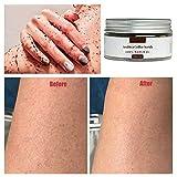 Cutelove Arabica Coffee Facial Body Scrub,Coffee Dead Sea Salt Coconut Oil All Natural Scrub to Exfoliate & Moisturize Skin, review