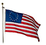 Betsy Ross Flag 4X6 Foot Dyed SolarMax Nylon For Sale