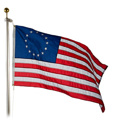 Valley Forge Betsy Ross Flag 3x5 Foot Cotton/BEST