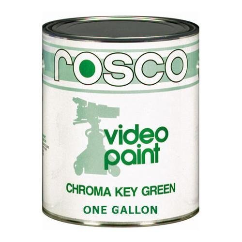 Rosco Chroma Key Matte Green Paint - Gallon by Rosco