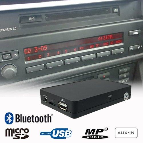 Interface Adapter Kit (Stereo Bluetooth Handsfree A2DP USB SD AUX MP3 WMA CD Changer Adapter Interface Car Kit BMW 5 Series E39 X3 E83 X5 E53 Z4 E85 Z8 E52)