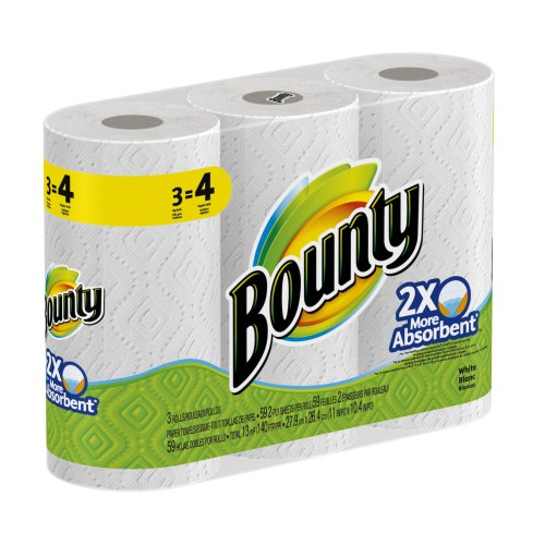Bounty Paper Towels Rolls Packs product image