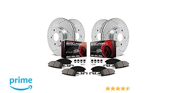Powerstop 4-Wheel Set Brake Disc and Pad Kits Front /& Rear New for K1545