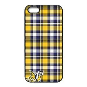 Custom Minnesota Vikings NFL Back Cover Case for iphone 5,5S JN5S-1780