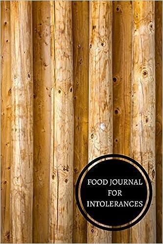 Food Journal For Intolerances