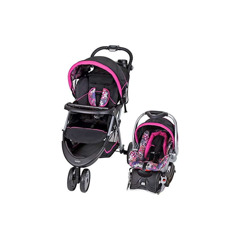 Baby Trend EZ Ride 5 Travel System, Flor