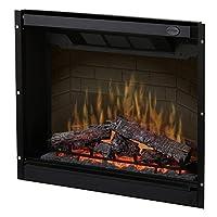 """Dimplex DF3215 Caja de fuego enchufable de 32 """"para fuego múltiple, Negro"""