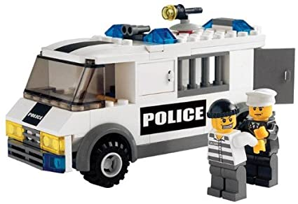 Amazon Lego City Set 7245 Prisoner Transport Toys Games