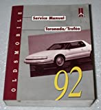 1992 Oldsmobile Toronado, Trofeo Service Manual (Complete Volume)