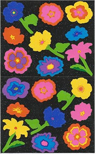 - Mrs. Grossman's Glitter Flowers Stickers