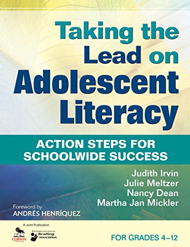 Download Taking the Lead on Adolescent Literacy: Action Steps for Schoolwide Success Pdf