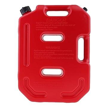 B Blesiya 1 Unid Lata Contenedor de Aceite 10 Litros Multifuncional de Coche Plástico Duro -