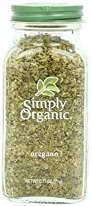 Simply Organic Oregano Leaf Cut & Sifted Certified Organic, .75 oz Container