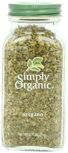 Simply Organic Oregano Leaf, .75-Ounce Container