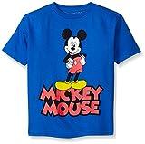Disney Boys' Little Boys' Classic Mickey Mouse Short Sleeve T-Shirt