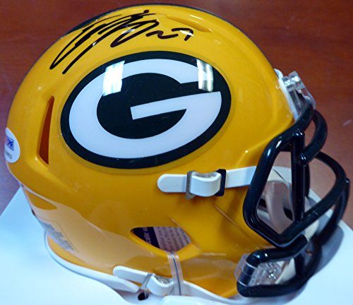 Eddie Lacy Autographed Green Bay Packers Speed Mini for sale  Delivered anywhere in USA