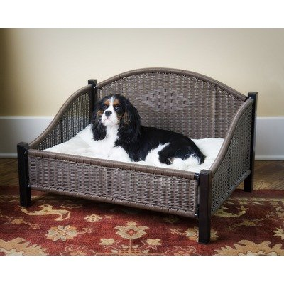 Decorative Pet Bed in Dark Brown Size: Small, My Pet Supplies