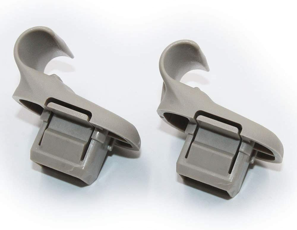 Koauto 2 pcs Sun Visor Mounting Clip Retainer Clip Fit Mazda 5 6 CX-7 CX-9 RX-8 LC6269261B77