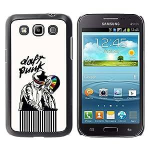 Paccase / SLIM PC / Aliminium Casa Carcasa Funda Case Cover para - Daft Artists - Samsung Galaxy Win I8550 I8552 Grand Quattro