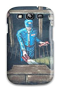 Awesome Case Cover/galaxy S3 Defender Case Cover(sidewalk Art )