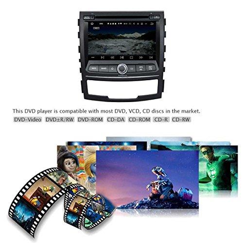 2 Din 7 pouces Android 7.1 stéréo de voiture pour Ssangyong Korando 2010 2011 2012 2013,DAB+ radio 1024x600 écran tactile capacitif avec Quad Core Cortex A9 1.6G CPU 16G flash et 2G de RAM DDR3 GPS Navi R 70%OFF