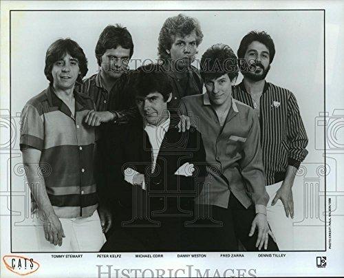 1980 Press Photo Tommy Stewart, Peter Kelpz, Michael Corr & Danny Weston of - Michael Corrs