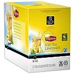 Lipton k-cups, indulge black tea vanilla 24 ct 16 100% natural 150mg of heart-healthy flavonoids (per 8 fl oz serving) 55mg caffeine (per 8 fl oz serving)