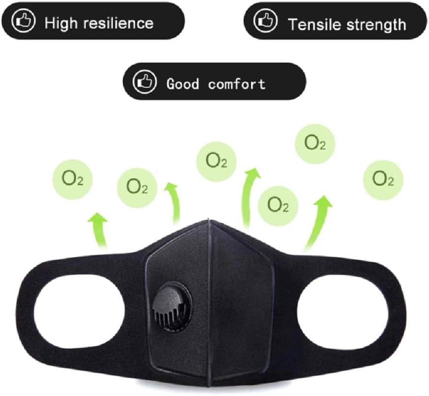 Unisex Reutilizable M/áscara Facial Antipolvo GUANLIAN Lavable al Aire Libre Entrenamiento