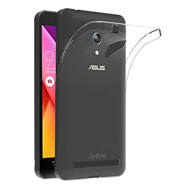 huge selection of 340a1 9503e ASUS ZenFone Go Case, AICEK ASUS ZenFone Go Silicon Soft TPU Case Crystal  Clear Premium Anti Slip Scratch Resistant Case Back Protector Cover for ...