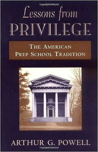 Libros Descargar Lessons From Privilege: The American Prep School Tradition Formato PDF
