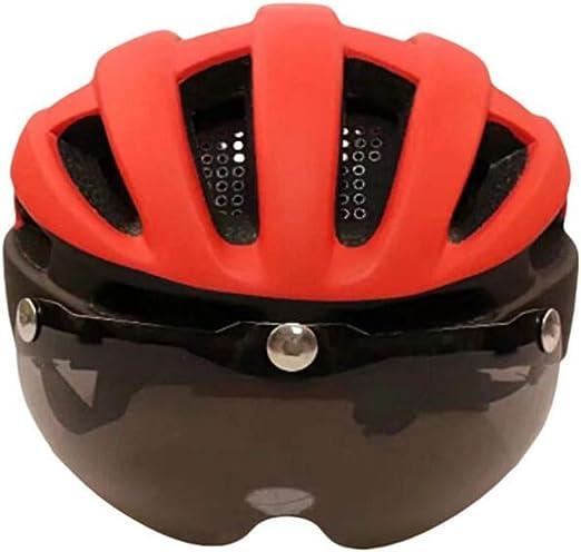 Sxuefang Casco magnético para Gafas de Bicicleta de montaña ...