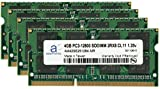 Adamanta 16GB (4x4GB) Memory Upgrade for HP All in One Desktop 22xt DDR3L 1600Mhz PC3-12800 SODIMM 2Rx8 CL11 1.35v Notebook RAM
