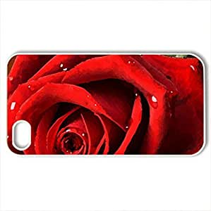 Protective Diy For Iphone 6Plus Case Cover Roses And Letter Blank White Red Love Hearts Romantic Vday February Lovers Valentines Holiday Valentines Day