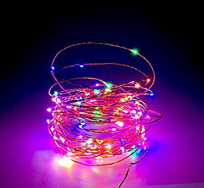 Led String Starry Light Christmas Indoor Outdoor 100 Led 33ft Copper Wire