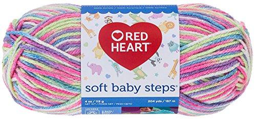 (Red Heart Soft Baby Steps Yarn,)