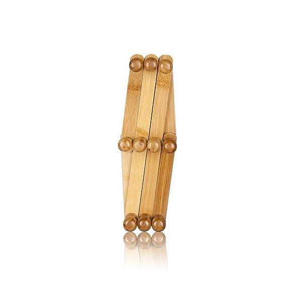Amazon.com: aidelai perchero madera maciza nanzhu ...
