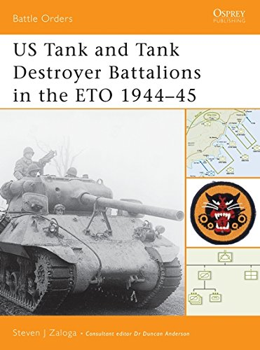 US Tank and Tank Destroyer Battalions in the ETO 1944-45 (Battle -