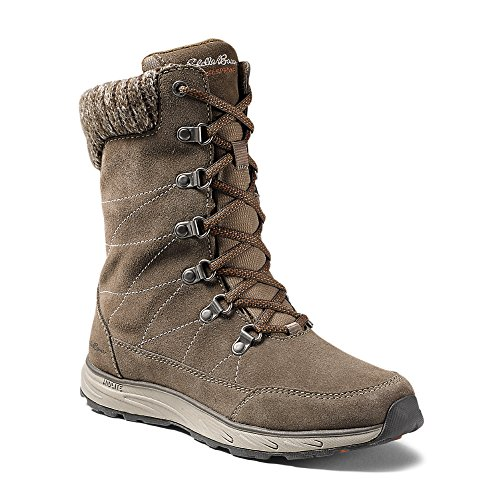 Eddie Bauer Women's Laurel Lace Boot, Driftwood Regular 7.5M (Bauer Lace)