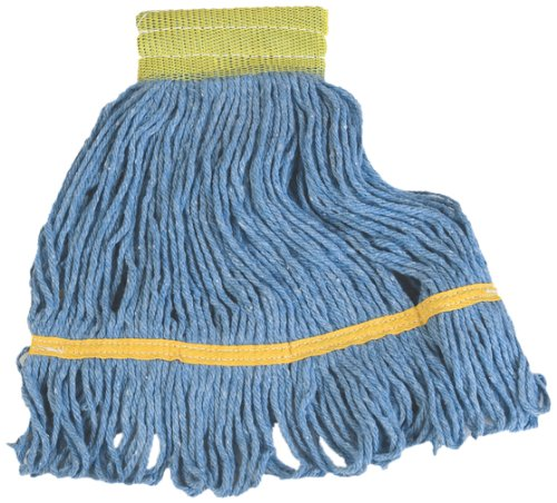 Carlisle  (369442B14) 14'' Flo-Pac Mop Head w/ Looped-End [Set of 12] by Carlisle