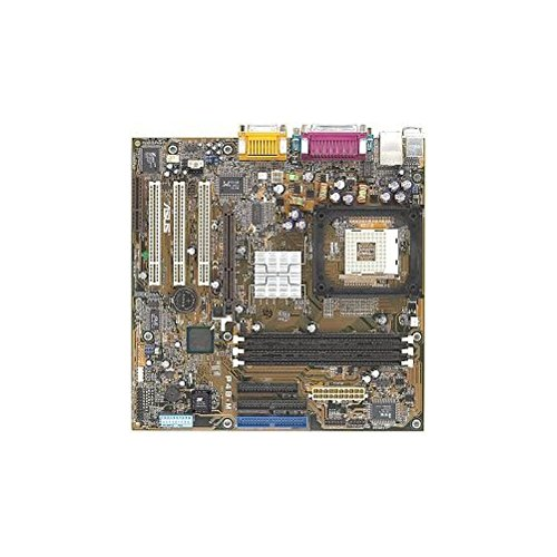 (Asus P4B-M Socket 478 Micro ATX motherboard with 3 PCI, 1 AGP, 1 CNR and 3 DIMM sockets. On-Board audio. Motherboard only. No manuals, cables or)