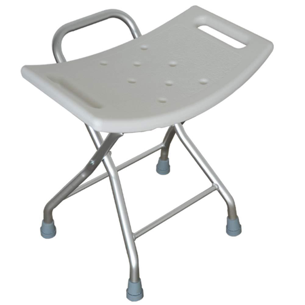 CAIJUN Sedile per Doccia Multifunzione Pieghevole Design del Corrimano Tutta Lattrezzatura Completamente Isolato Impermeabile Antiscivolo 100 kg Portante Multiuso Chair