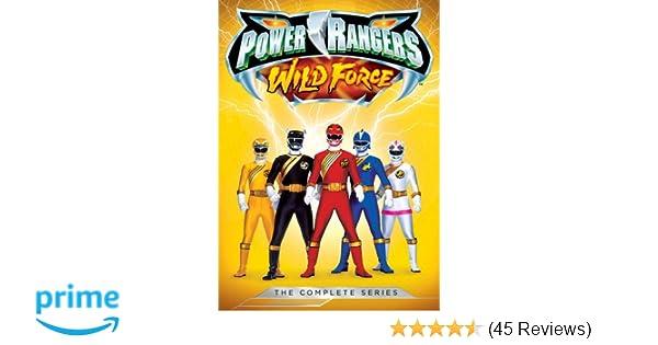 Amazon.com: Power Rangers: Wild Force: The Complete Series ...
