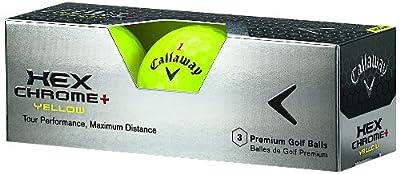Callaway Hex Chrome Plus Golf Ball (12-Pack)